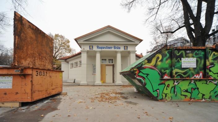 Das Bad Theresienwiese Neues Wirtshaus