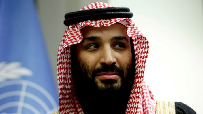 Der saudische Kronprinz bin Salman in New York