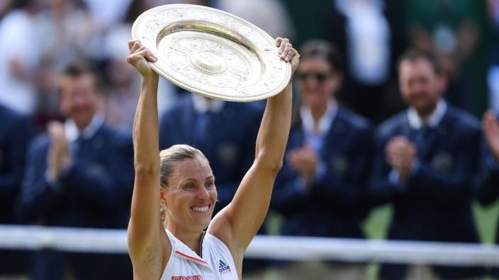 Angelique Kerber: Kerbers großer Moment: Der Wimbledon-Sieg 2018. Wie weit wird sie es in diesem Jahr schaffen?