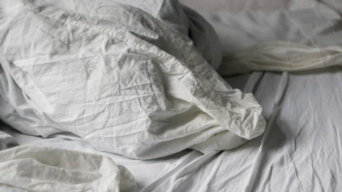 Bett ungemacht