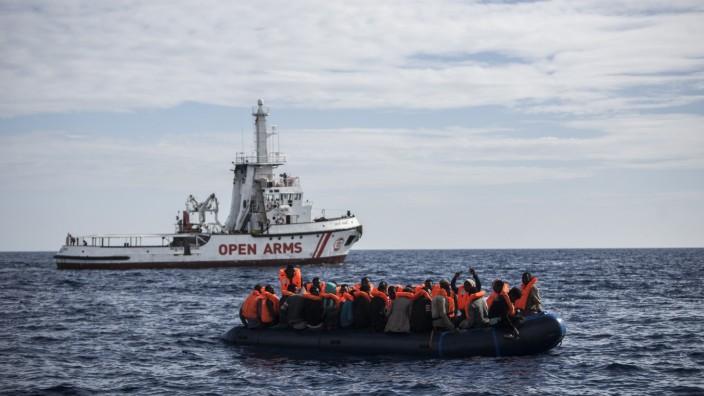 Seenotrettung vor der Spanischen Küste