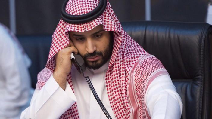 Der saudische Kronprinz bin Salman 2015 im Jemen