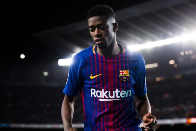 Barcelona v Leganes - La Liga; Dembélé