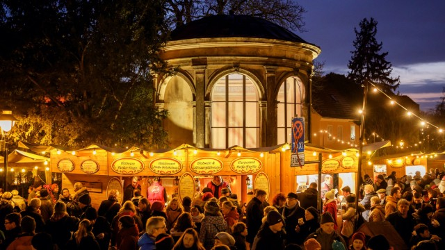 Elbhangfest Dresden Weihnachtsmarkt