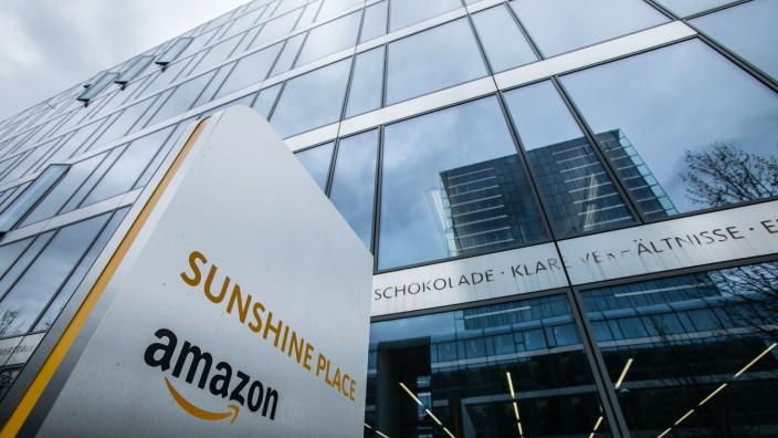 öffentlichen Führung durch die Amazon Zentrale in Schwabing, leider nur draußen, deshalb nur Aussenaufnahmen.