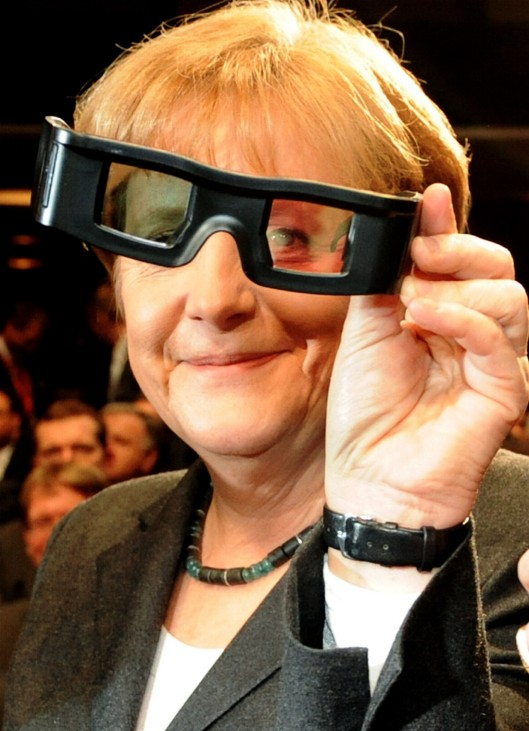 Angela Merkel wird 60