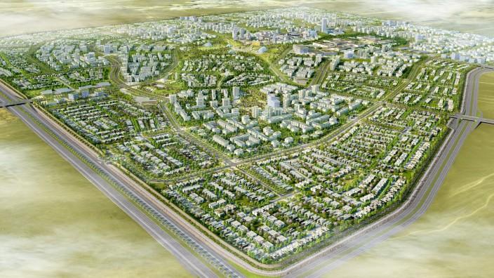 Badya City BIRDVIEW