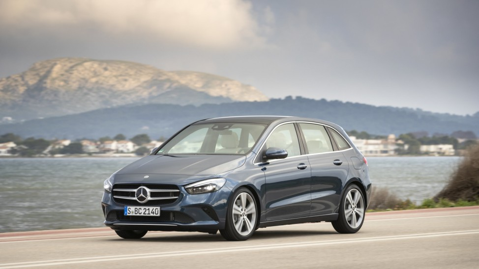 Mercedes B-Klasse startet im Februar für 31847 Euro