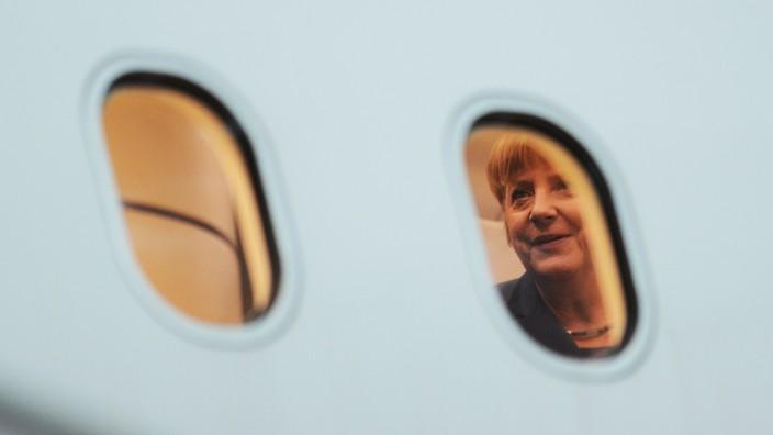 Merkel reist zum EU-Gipfel
