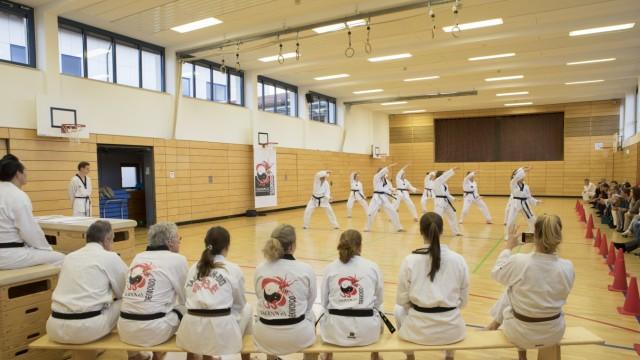 Tag der Dan-Prüfung Taekwondo-Verein Taeryon e.V. Olching