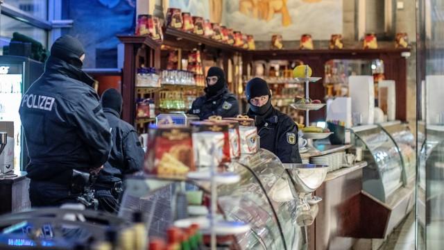 Razzia gegen italienische Mafia in Duisburg
