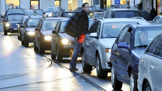 Warnstreik im Münchner Nahverkehr