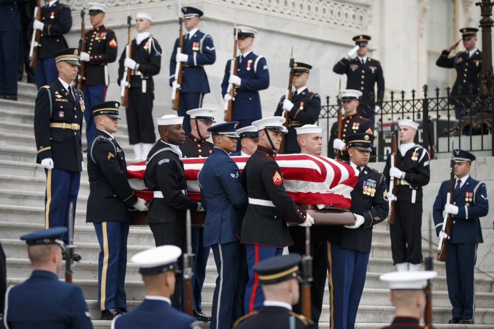Staatsbegräbnis des ehemaligen US-Präsidenten Bush