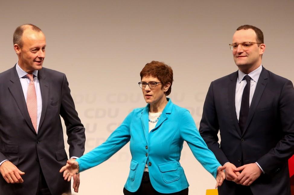 CDU Candidates Campaign In Berlin