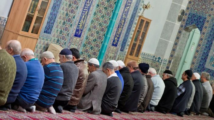 Gebet in der Moschee