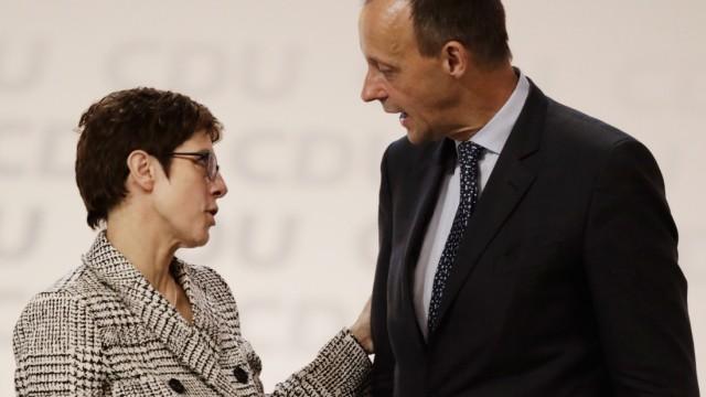Annegret Kramp-Karrenbauer, Friedrich Merz, CDU