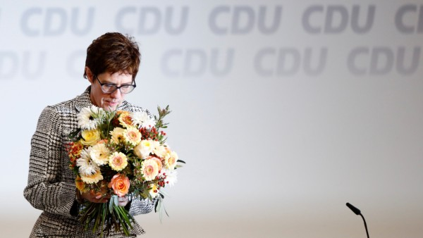 Christian Democratic Union party congress in Hamburg