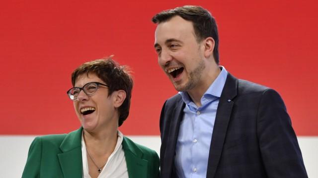 Annegret Kramp-Karrenbauer, Paul Ziemiak, CDU