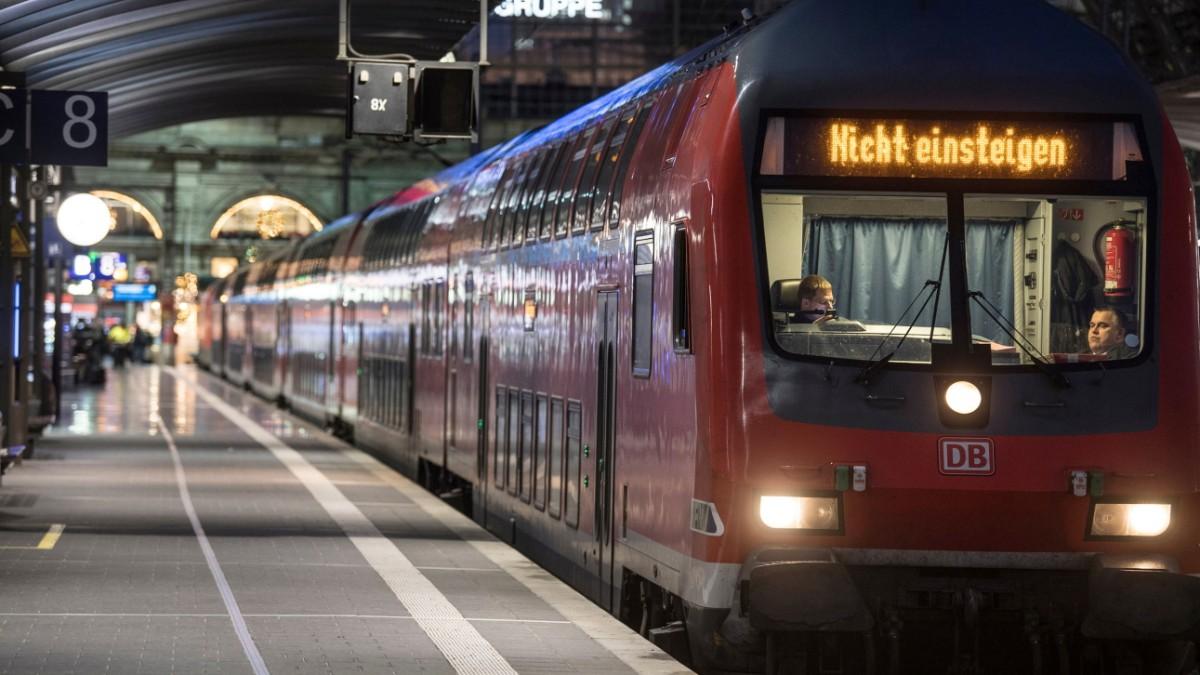 Frankfurter Hauptbahnhof - Fünf Verletzte bei Zugunfall