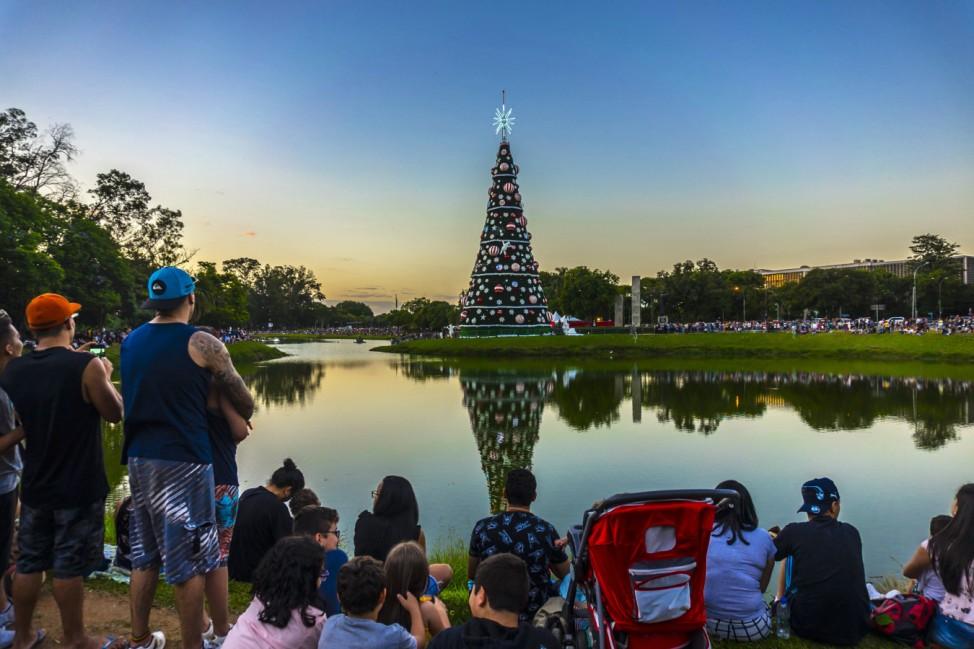 Weihnachtsbaum in Sao Paulo