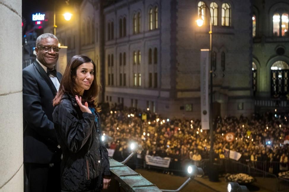 Verleihung des Friedensnobelpreises in Oslo