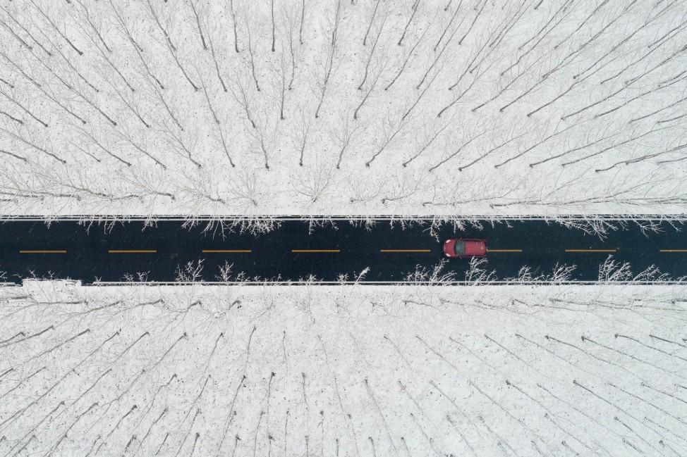 Winterwetter in China