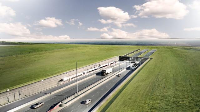 Der geplante Fehmarnbelt-Tunnel
