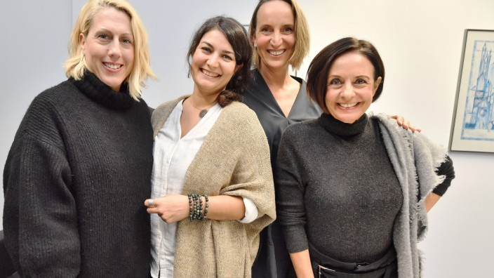 Starnberg ,vier business Frauen, Start-up