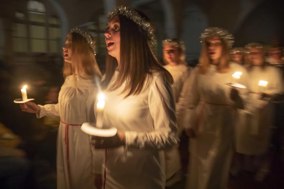 Luciafest in St. Petersburg