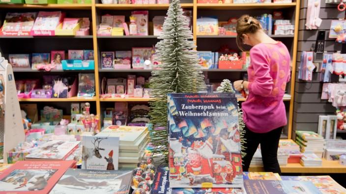 Weihnachtsgeschäft im Buchhandel