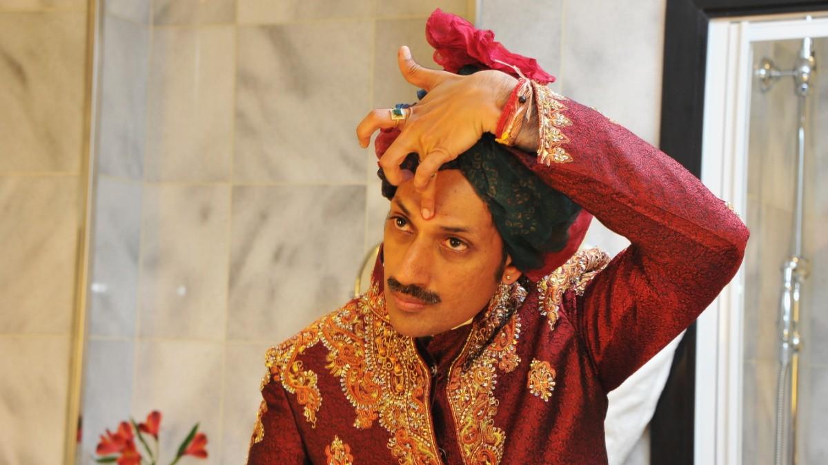 Männer indische Dhoti