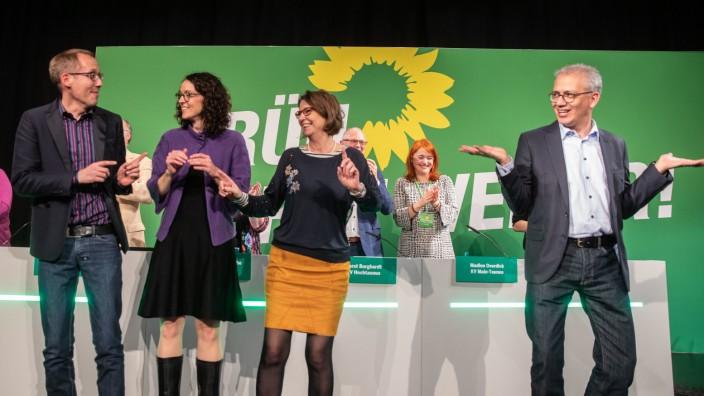 Hessens Grüne stimmen über Koalitionsvertrag ab