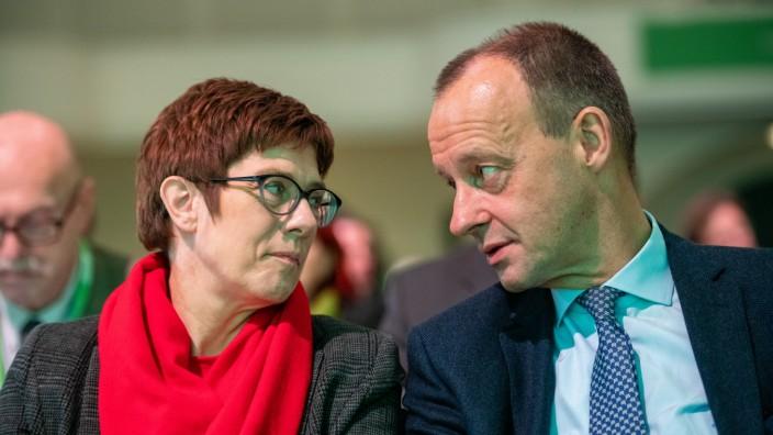 CDU Candidates Campaign In Leipzig