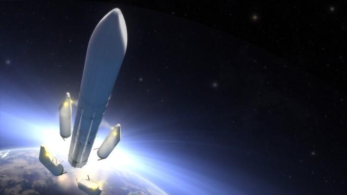 Neue Ariane 6-Rakete