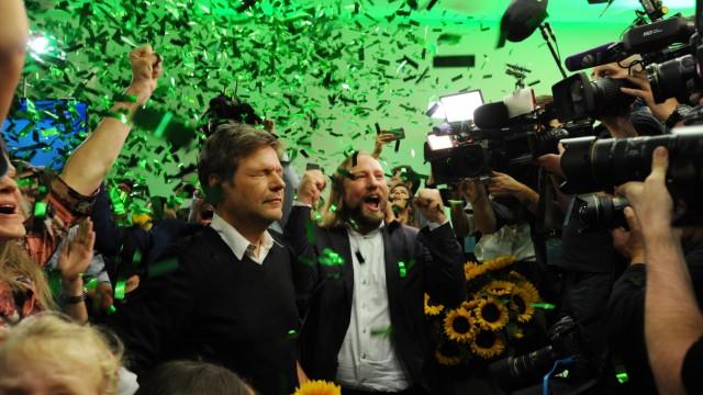 Bündnis 90 / Die Grünen feiert Erfolg bei der Bayerischen Landtagswahl, 2018