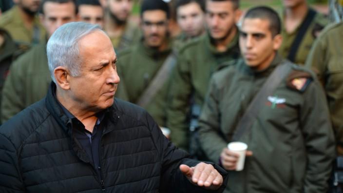 Netanjahu besucht das IDF-Nordkommando