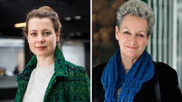 Jamila Schäfer und Sabine Csampai