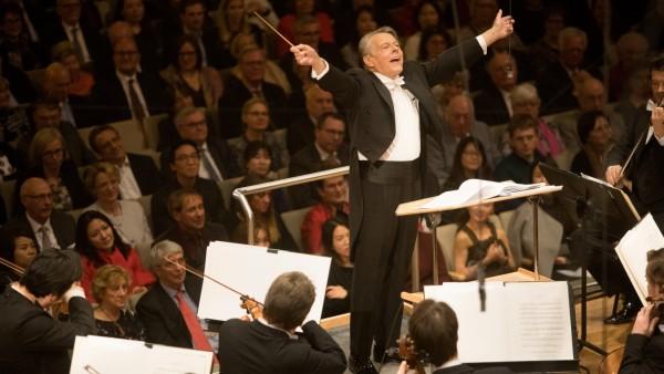 Benefizkonzert SZ Advendskalender im Herkulessaal mit dem Symphonieorchester des Bayerischen Rundfunks und Mariss Jansons