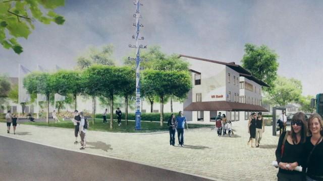 Bürgerversammlung wegen Ortsmittengestaltung