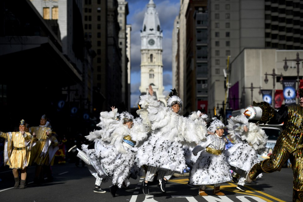 Philadelphia Celebrates The New Year With Annual Mummers Parade