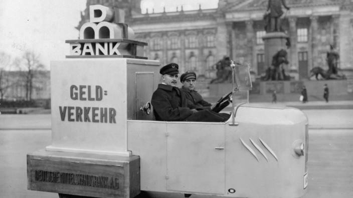 Geldtransport 1925, R. Sennecke