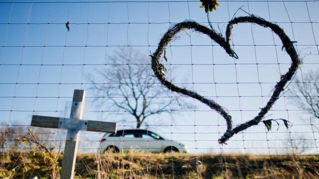 Herz an Bundesstraße