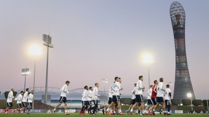 FC Bayern Muenchen Doha Training Camp; Bayern