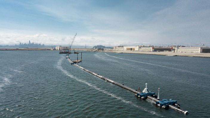 "´The Ocean Cleanup"" - Meeres-Müllsäuberung vor San Francisco"