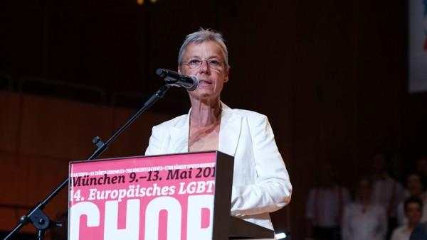 Lydia Dietrich von den Grünen engagiert sich in den Frauenorganisation ihrer Partei.