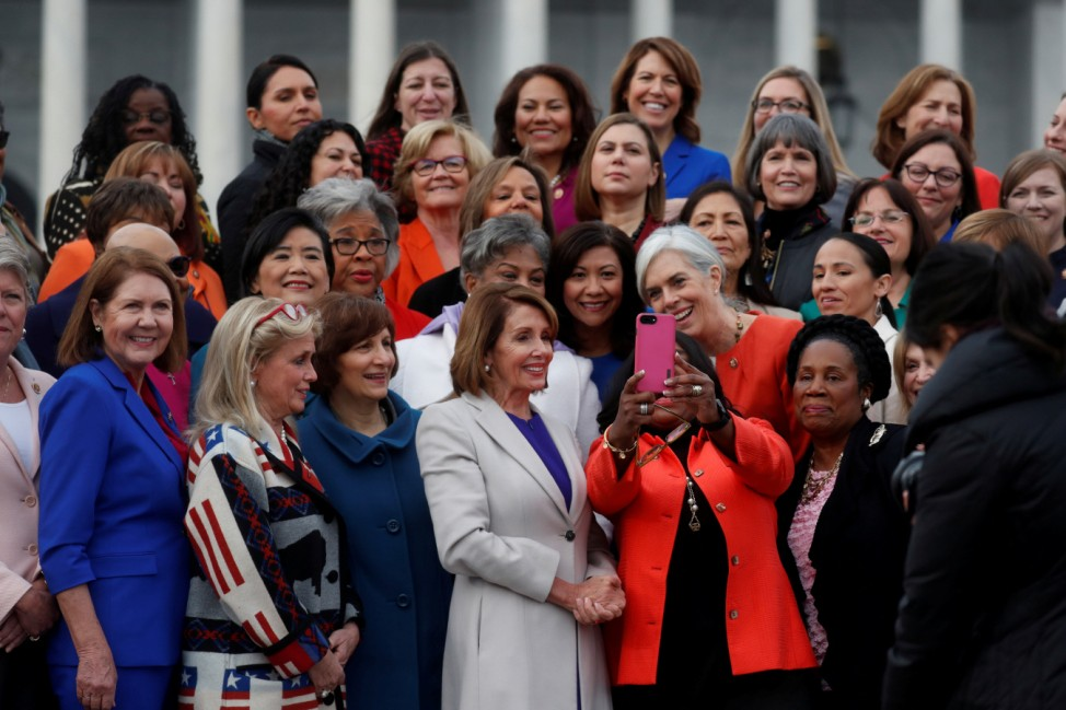 House Speaker Pelosi House Speaker Pelosi hosts photo opportunity with House Democratic women of 116th Congress on Capitol Hill in Washington