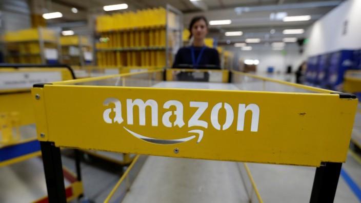 Amazon-Mitarbeiterin in Tschechien