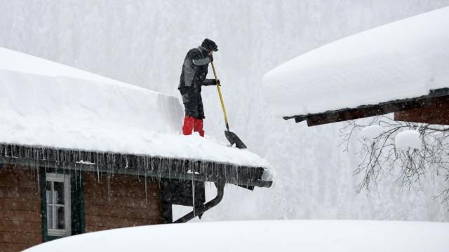 Winterwetter in Österreich