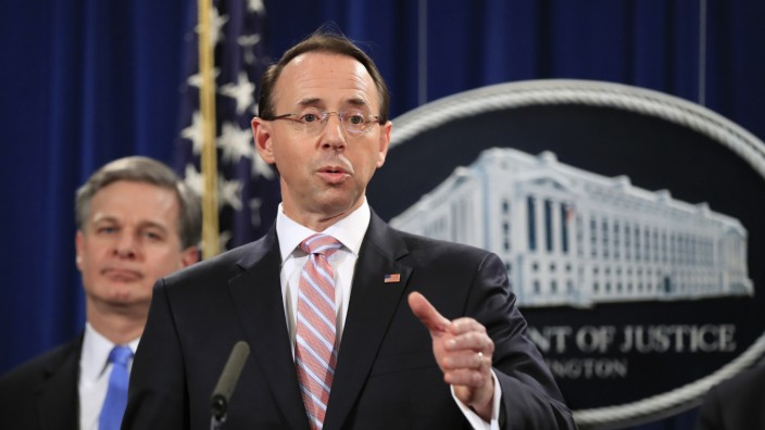 Chinesische Hacker stehlen jahrelang Daten laut US-Justiz