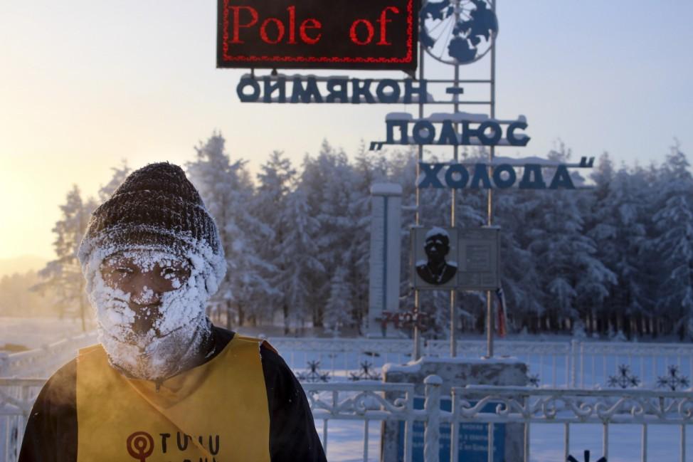 Kältestes Rennen der Welt